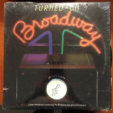 Turned On Broadway-LP-RCA Red Seal-NM-Shrink