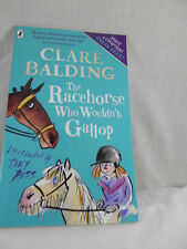 Clare Balding The Racehorse Who Wouldn't Gallop First 4 Chapters sneak peak book