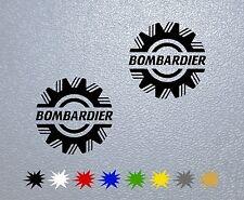 STICKER PEGATINA DECAL VINYL Bombardier, Ski Doo, Snowmobile
