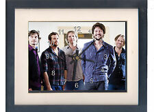 Powderfinger. Framed print and clock. Bernard Fanning. Music memorabilia.