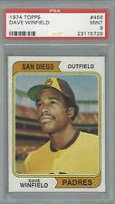 1974 Topps Dave Winfield Padres PSA 9 Centered RC HOF