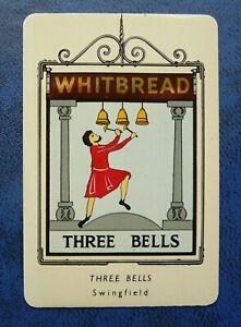 Whitbread Inn Signs  Third Series Aluminium  No 37 THE  THREE BELLS