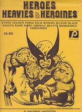 HEROES AND HEAVIES , HEROINES PORTFOLIO VF/NM
