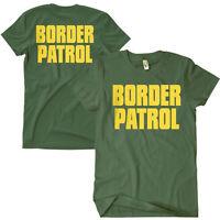 OD Border Patrol T-shirt 2 sided Print Olive Green Fox 64-607