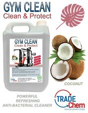 Agrès Solution de nettoyage spray 5 L sur Anti-bacterial désinfectant UV-noix de coco