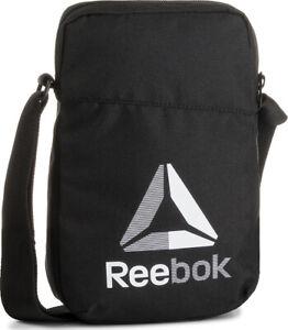 Reebok Men Boys Shoulder Bag Linear Organizer Fashion Gym Training New EC5570