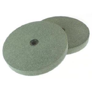 """2Pc 150mm (6"""") Grinding Wheels For Bench Grinder  Fine And Coarse Grit"""
