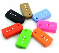 SILICONE CAR REMOTE KEY COVER Bag HOLDER Fit For Mazda M2 M6 M3 Enclave