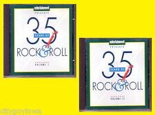Entertainment Weekly 35 YEARS OF ROCK & ROLL Various Artists 2CD 60s 70s Oldies