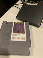 Gauntlet II 2 NES Nintendo Entertainment System, 1990 Tested