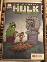 IMMORTAL HULK #40 SKOTTIE YOUNG RIP VARIANT COVER 2020 marvel comics incredible