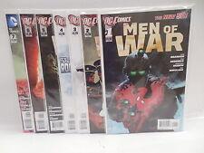 Men Of War DC New 52 Comic Books 1-7 Sgt. Rock War Is Hell