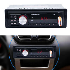 LED Display Auto Car 1 Din Audio Stereo MP3 Player FM AUX Radio USB SD Card 12V