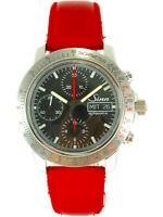SINN Chronograph 303 Autobahn Automatic Day-Date Watch Valjoux 7750 Serviced