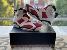 Air Jordan 6 VI Carmines UK 9.5 US 10.5 100% Authentic w/receipt from Nike USED