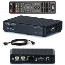 Full HDTV HD OPTICUM Sloth Mini Digital SAT Receiver IPTV IP TV HDMI LAN USB PVR