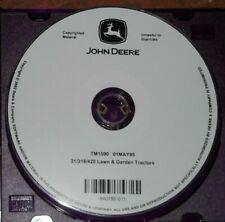 John Deere 316 318 420 Lawn Tractor Technical Service Repair Manual Tm-1590