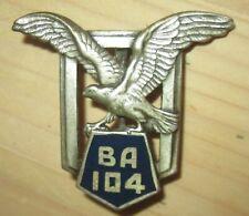 Base Aérienne 104, LE BOURGET, dos embouti