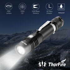CREE LED Torch Light Prozor Handheld Super Bright T6 Flashlight USB Recharge