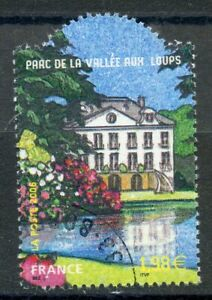 TIMBRE FRANCE OBLITERE N° 3895 // JARDIN DE FRANCE / CHATENAY MALABRY ARBORETUM