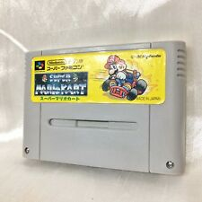 Super Famicom SUPER MARIO KART Nintendo sfc snes Cassette Japan import