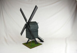 POST WINDMILL OLD EUROPE 28mm Scale MDF Building H007 Sarissa Precision
