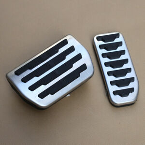 FOR Range Rover/Jaguar AT Brake Gas Foot Accelerator Pedal Covers Accessories