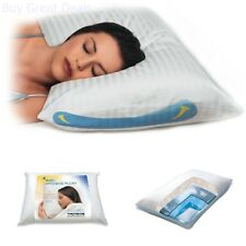 Cervical Neck Back Pain Water Pillow Anti Snoring Spine Alignment Therapeutic