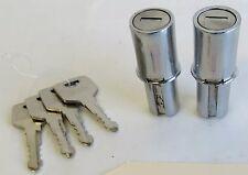 Door handle lock cylinders for 190sl 190 sl Ponton  w121 w120 Mercedes Benz