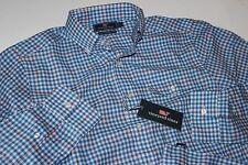 Vineyard Vines Crosby Shirt Cornation Check Spinnaker Slim Fit XL Extra Large