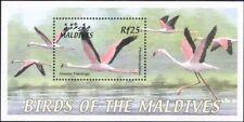 Maldives 2002 Birds/Greater Flamingo/Nature/Wildlife 1v m/s (b9788)