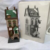 1993 Dept 56 Christmas In The City Series SPRING ST. COFFEE HOUSE 58807 IOB EUC