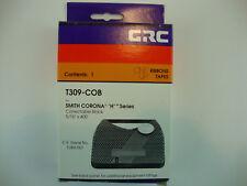 "CRC T309-COB Smith Corona H Series Correctable Black Ribbons 5/16"" x 400' 2 pkgs"
