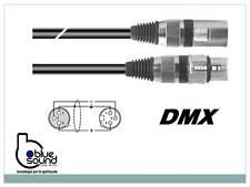 PROAUDIO PLAY53313L03BK CAVO DMX XLR 3P 3mt PER EFFETTI LUCE DISCOTECA DJ LIGHTS