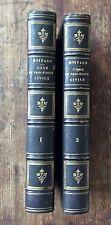 Boitard 1851 LEÇONS SUR LE CODE DE PROCÉDURE CIVILE 2 volumes reliés BEL EX.