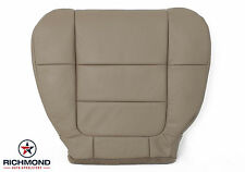 2001 2002 Ford F150 Lariat Extended-Cab -Driver Bottom Leather Seat Cover TAN