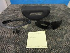 OAKLEY ESS CROSSBOW PROTECTIVE GLASSES MILITARY ATV Z87 SHOOTING CLEAR DARK USED