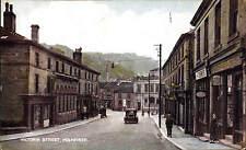 Holmfirth. Victoria Street & Car.