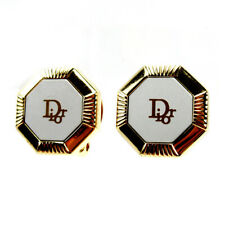 Auth Dior Earring logo Auth  used T10495