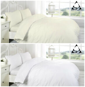 200 800 Thread Count 100% Egyptian Cotton Duvet Cover Set with Pillow Cases