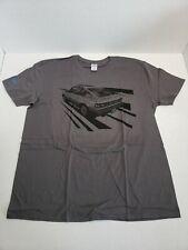 Genuine Honda 1985 CRX Si Graphic Tee Shirt Unisex Adult XL Gray Rare
