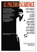 Scarface Crime & Thrillers Reproduction Film Posters