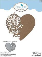 Elizabeth Crafts Designs Cutting Die~ LACE HEART Filigree, Love, Valentine ~1313