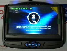 Invision DVD Headrest Monitor A  SSLM7BA1 factory oem slimline 7 SL7 rear system