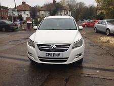 2011 VW TIGUAN 2.0 TDI 4MOTION 4X4 WHITE MANUAL **NO RESERVE PRICE