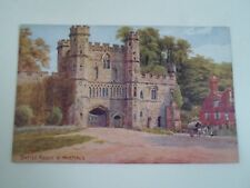A R QUINTON Postcard 1003 BATTLE ABBEY, NR HASTINGS  Unposted  §A2301   2/2