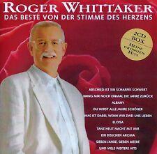 ROGER WHITTAKER : DAS BESTE VON DER STIMME DES HERZENS / 2 CD-SET - TOP-ZUSTAND
