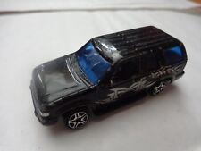 1/64 HOT WHEELS - CLASSIC BLACK FORD EXPLORER CAR 2005