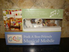 CoCaLo Baby Peek A Boo Friends Musical Mobile - New Open Box