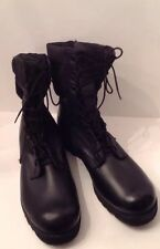 Mens Pro Search Black Spike Protective Combat/ Tactical Boots, Size 15 1/2 EUC